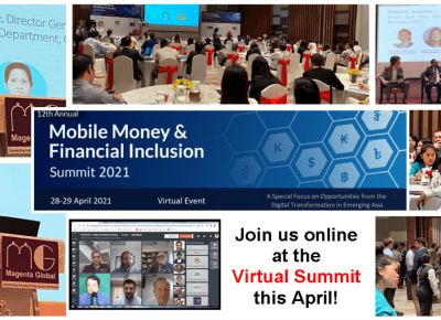 12th Mobile Money Financial inclusion summit 2021